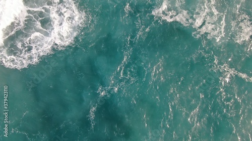 mighty atlantic ocean showing its power Wallpaper Mural
