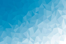Abstract Blue Low Poly Backgro...
