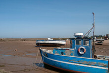 Small Boats Stranded At Low Ti...
