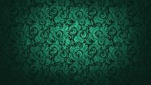 Fancy Green Wallpaper