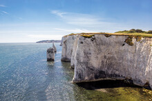 Old Harry Rocks, Dorset, Engla...
