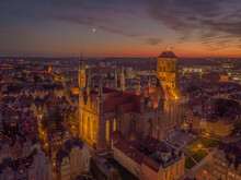 St.mary Cathedral In Gdansk At...