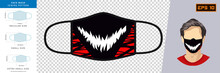 Vector Graphic Of Party Masks....