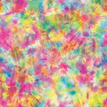 Tie Dye Hippie Print