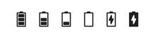 Phone Battery Symbol. Mobile C...