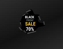 Black Friday Sale Card, Banner, Advertisement