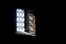 Haunted House Window With Dark...