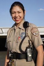 Female Hispanic Security Guard
