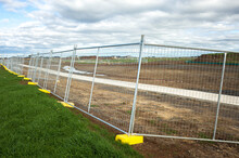 The Temporary Metal Barrier Fe...