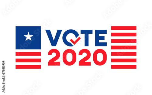 Obraz na plátně Vote 2020