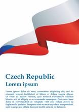 Flag Of The Czech Republic, Cz...
