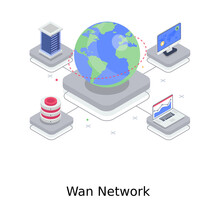 A Design Of Wan Network, Wide...