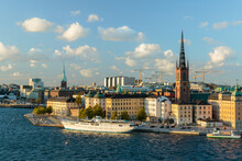 Cityscape Of Stockholm's Stads...