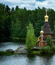 Wooden Ortodox Church Of The A...