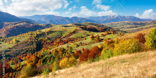 Photo beautiful mountain landscape on a sunny day