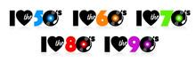 I Love Fifties, Sixties, Seventies Eighties And Nineties