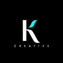 K Letter Logo Concept. Creativ...