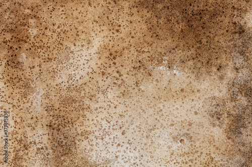 brown dirty concrete wall. background for designer Wallpaper Mural
