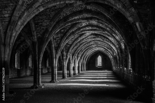 arches of the church Wallpaper Mural