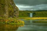 Fototapeta Sawanna - Skogafoss waterfall, south of Iceland