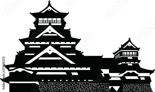 Fotomural 熊本城・天守