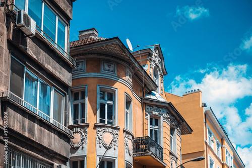 Fototapeta Street view of downtown in Sofia, Bulgaria