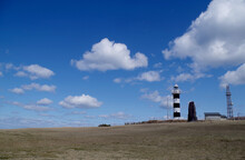 Sceni Spot For Ocean & Lighthouse View In Oga, Akita Prefecture, Japan