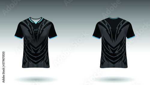 Fotografie, Obraz Sport design template  football jersey vector for football club