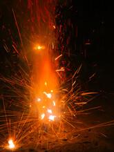 Firework Abstract Showing Deta...