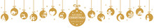 Hanging Baubles With Christmas...