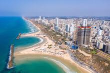 Aerial View Of Netanya Cliffsi...