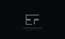 EF FE E F Letter Logo Design W...