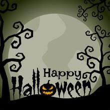 Happy Halloween Background Des...
