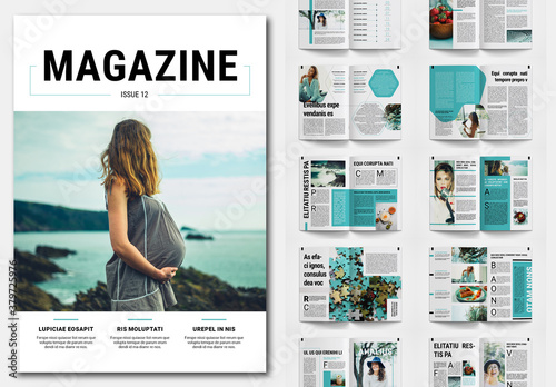 Creative Magazine Layout