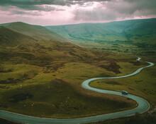 Snake Pass Of Peak District Fr...