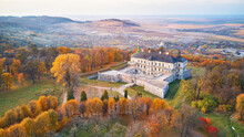 Podgortsy Palace From The Air....