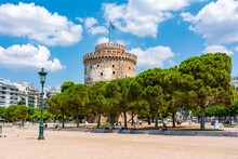 White Tower On Thessaloniki Em...