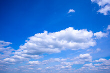 Blue Sky With Clouds, Cloudy S...