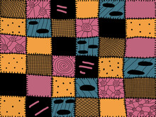 Sally Theme Patchwork Quilt Th...