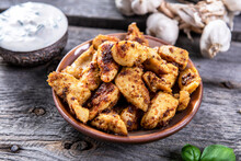 Roasted Meat With Spices - Gyr...