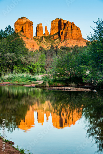Cathedral Rock in Vertical - 379767966