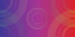 abstract background with circles, gradient red and violet color.