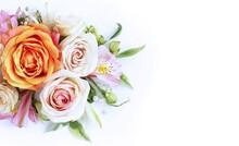 A Delicate Floral Arrangement ...