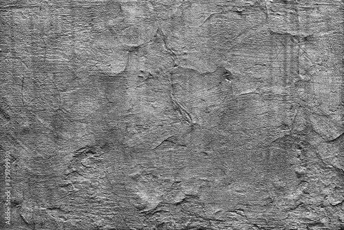 Canvas Print monochrome plaster texture or pattern for overlay blending