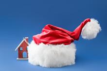 Santa Hat And Christmas Decor ...