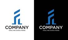 Logo Design Of F EF FE In Vect...