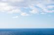 Surface Calm Sea and Blue Sky