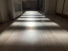 Corridor In A Hotel Room