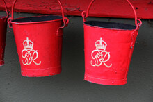 Vintage Red King George Fire B...