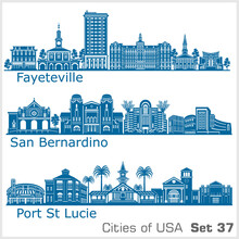 Cities Of USA - San Bernardino...